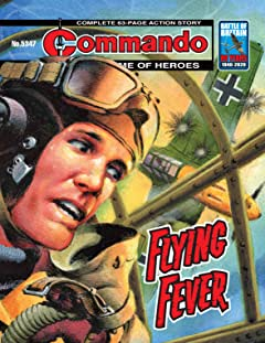 Commando No.5347: Flying Fever