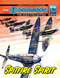 Commando No.5348: Spitfire Spirit