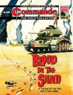 Commando #5352: Blood In The Sand