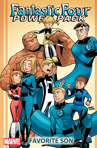Fantastic Four And Power Pack: Favorite Son