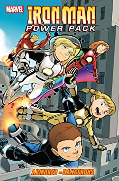 Iron Man And Power Pack: Armored And Dangerous