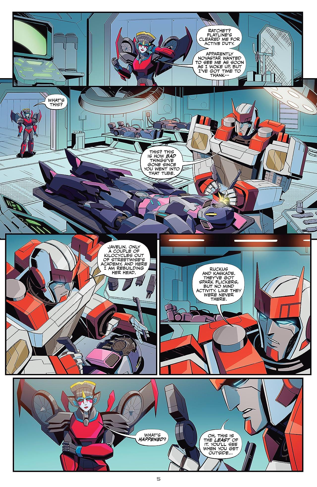 Transformers Vol. 3: All Fall Down