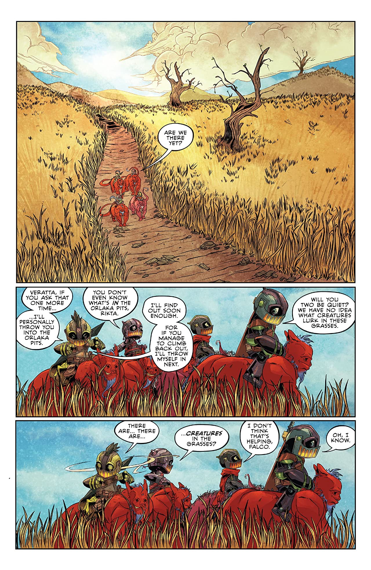 Canto II: The Hollow Men #2 (of 5)