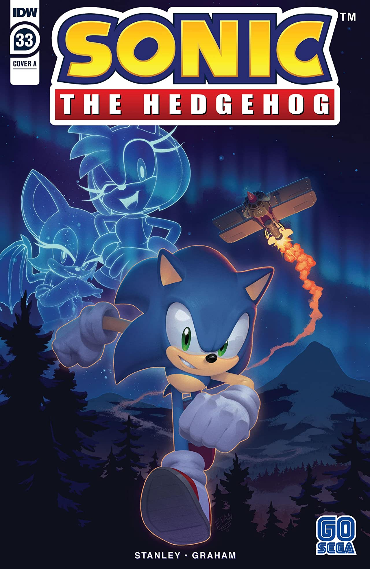 Sonic The Hedgehog (2018-) No.33