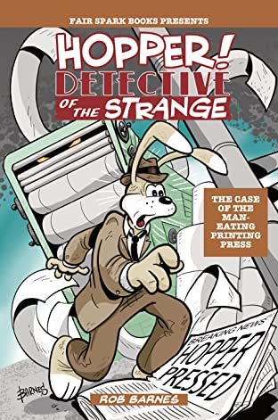 Hopper! Detective Of The Strange #2