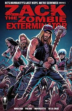 Zack The Zombie Exterminator Vol. 1
