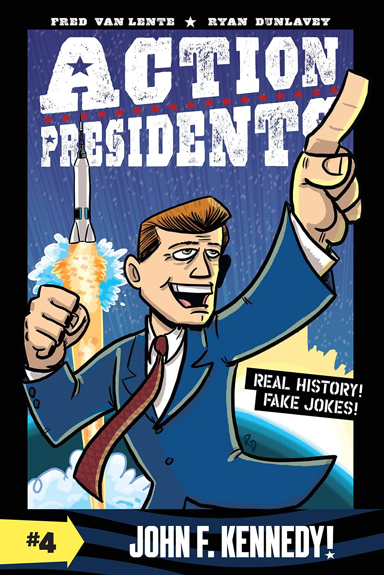 Action Presidents: John F. Kennedy! Tome 4