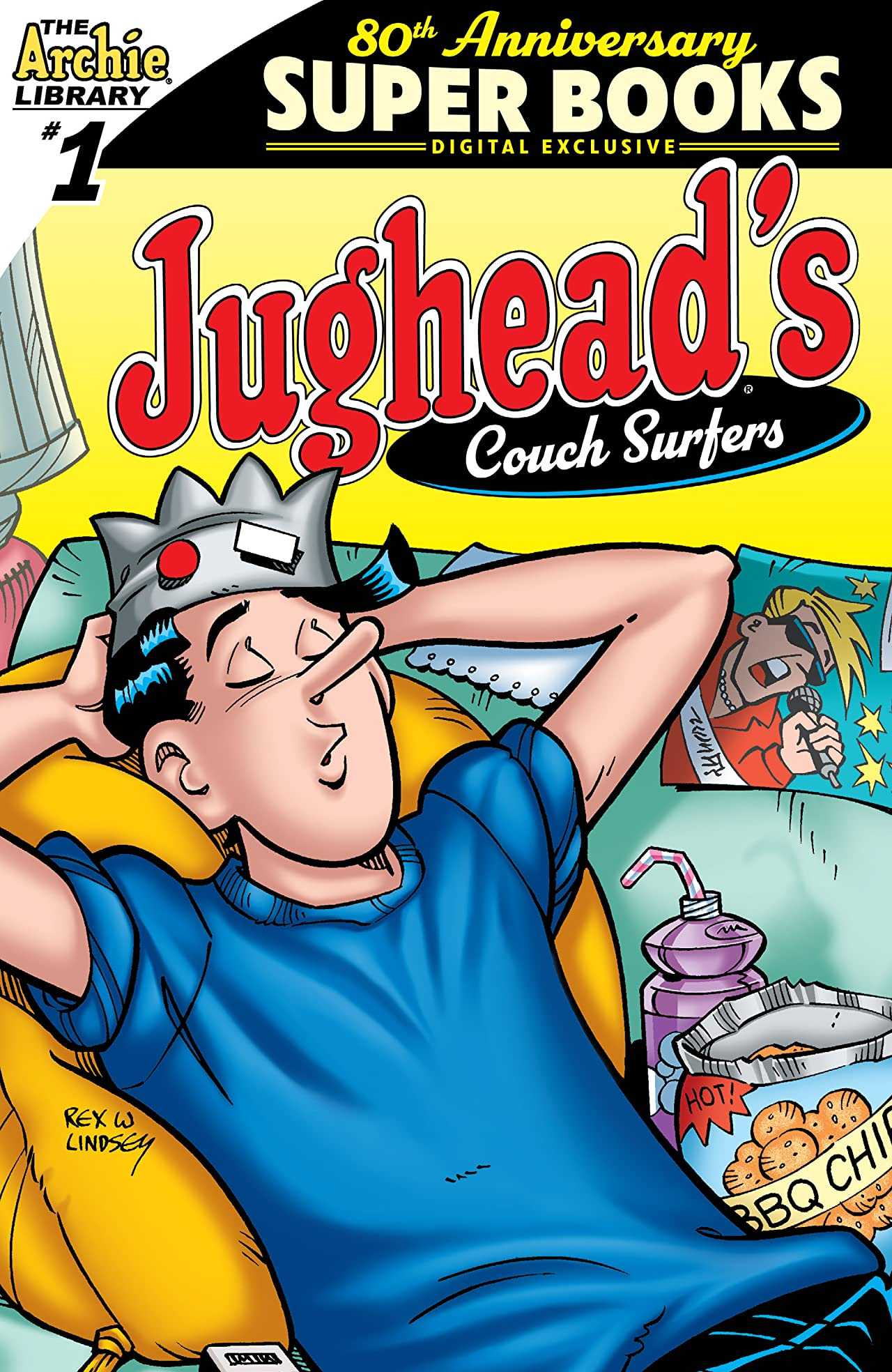 Archie Comics 80th Anniversary Presents: Jughead's Couch Surfers