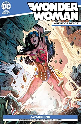 Wonder Woman: Agent of Peace #8