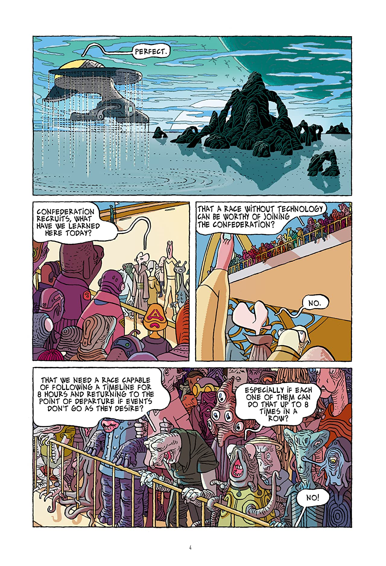 Infinity 8 #22: Until the End