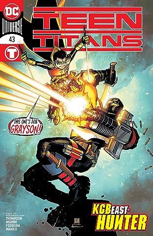 Teen Titans (2016-) #43