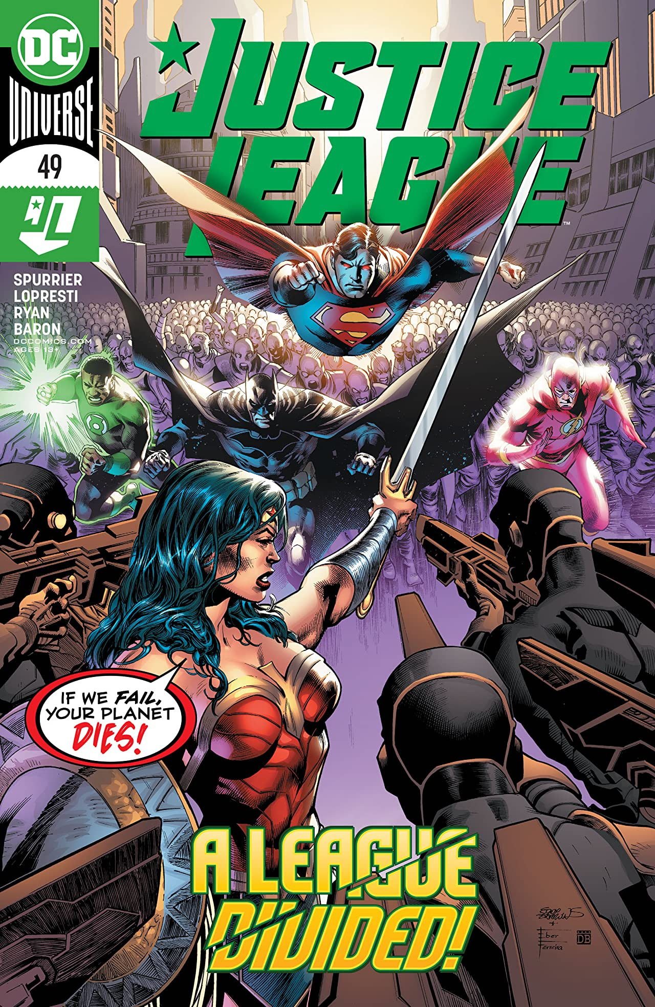 Justice League (2018-) No.49