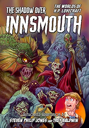 Worlds of H.P. Lovecraft #10: The Shadow Over Innsmouth