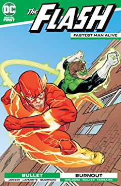 Flash: Fastest Man Alive No.10