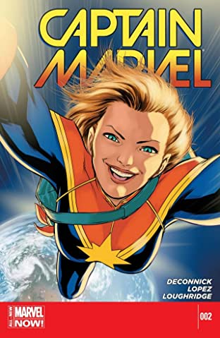 Captain Marvel (2014-2015) No.2
