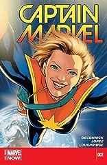 Captain Marvel (2014-) #2