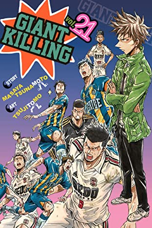 Giant Killing Vol. 21