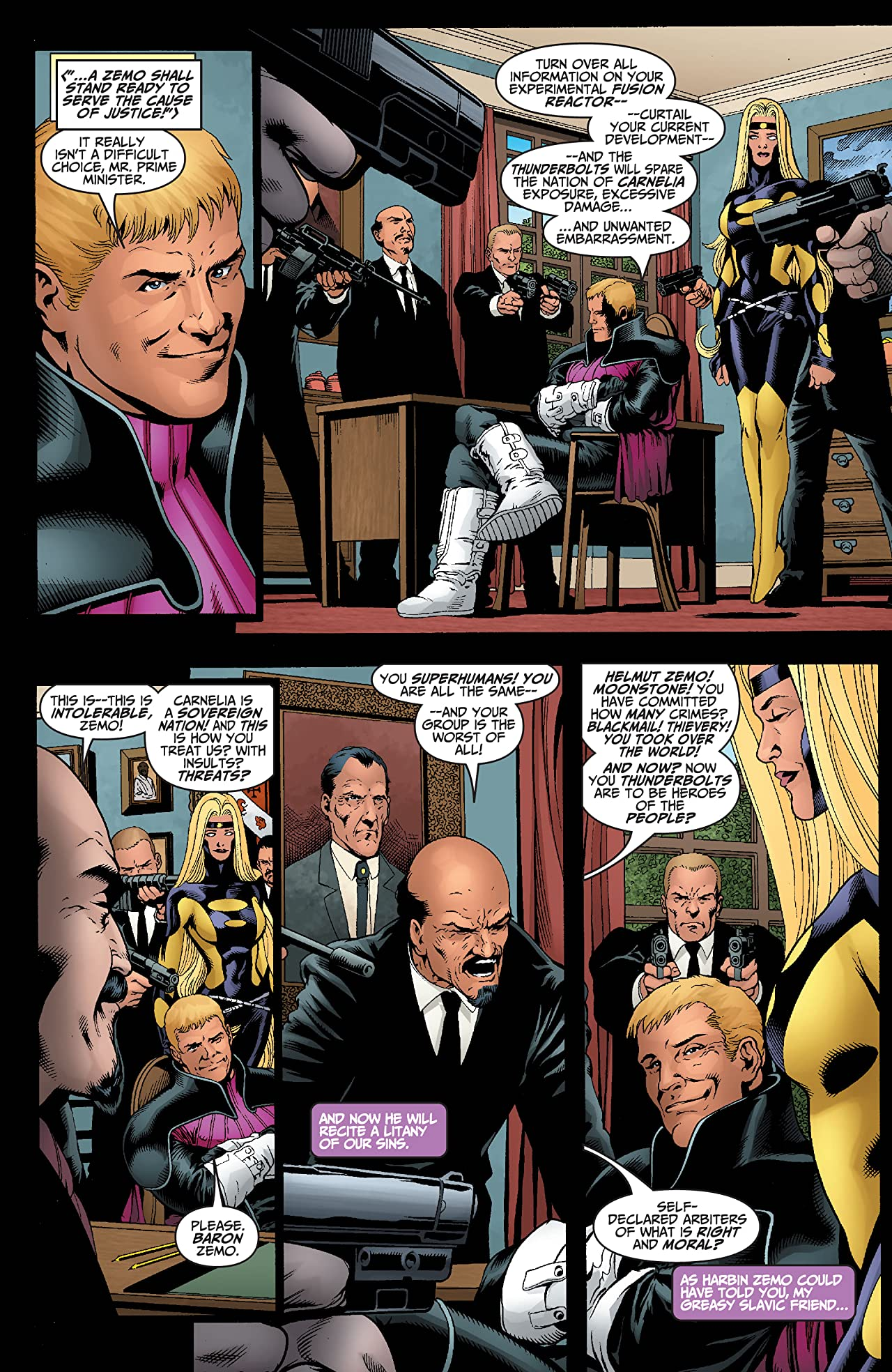 Avengers/Thunderbolts Vol. 2: Best Intentions