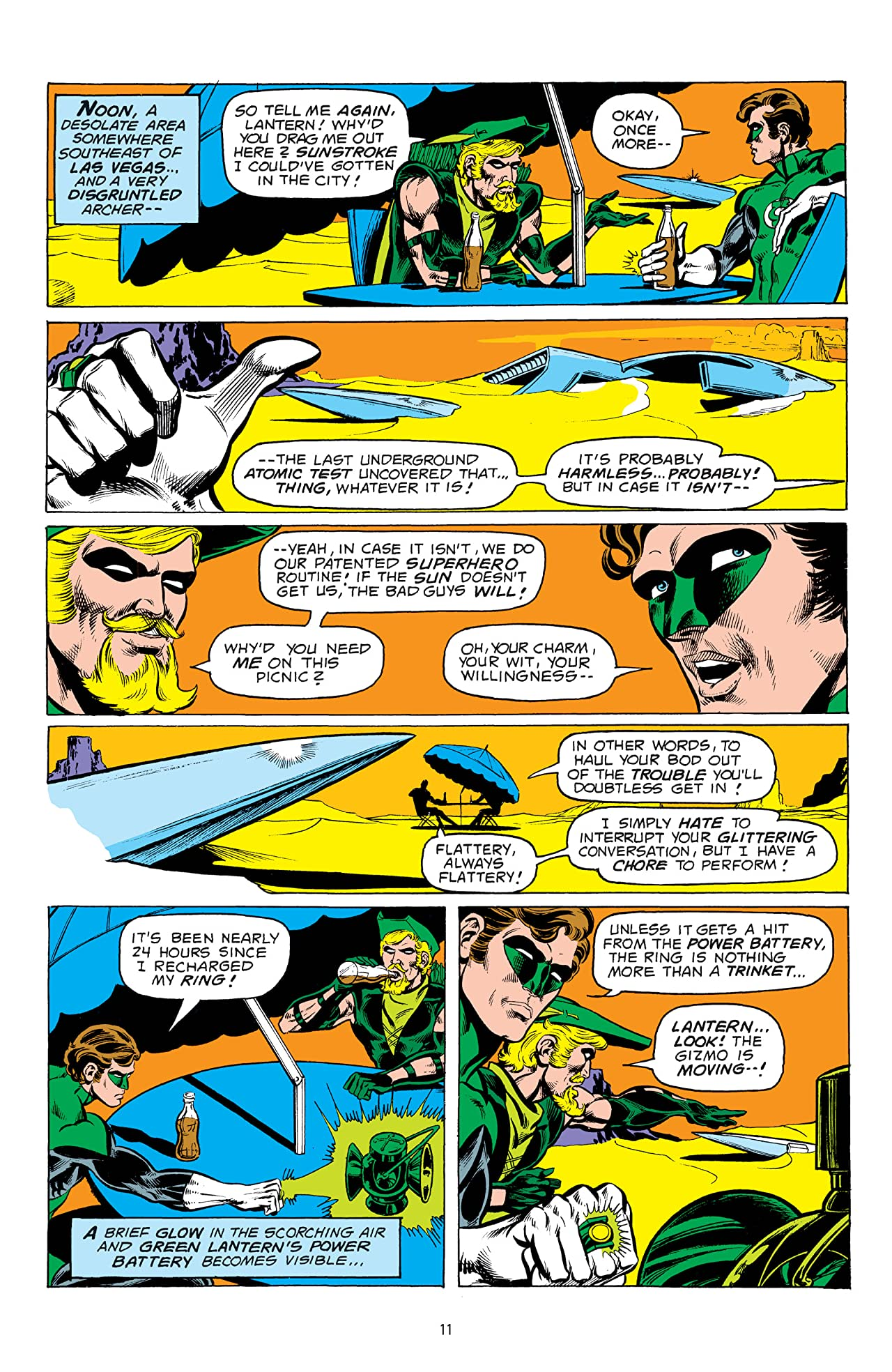 Green Lantern/Green Arrow: Space Traveling Heroes