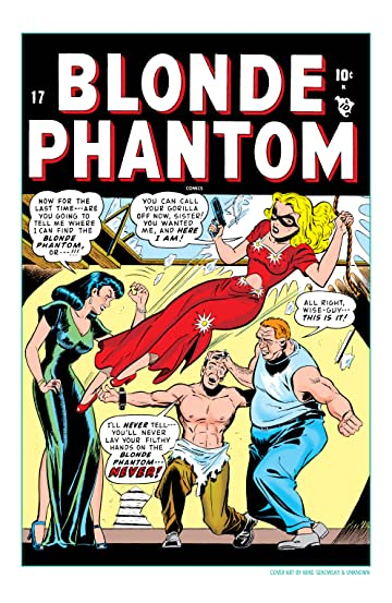 Blonde Phantom (1946-1949) #17