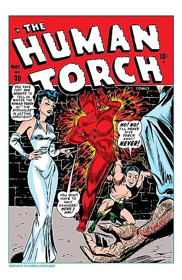 Human Torch (1940-1954) #30