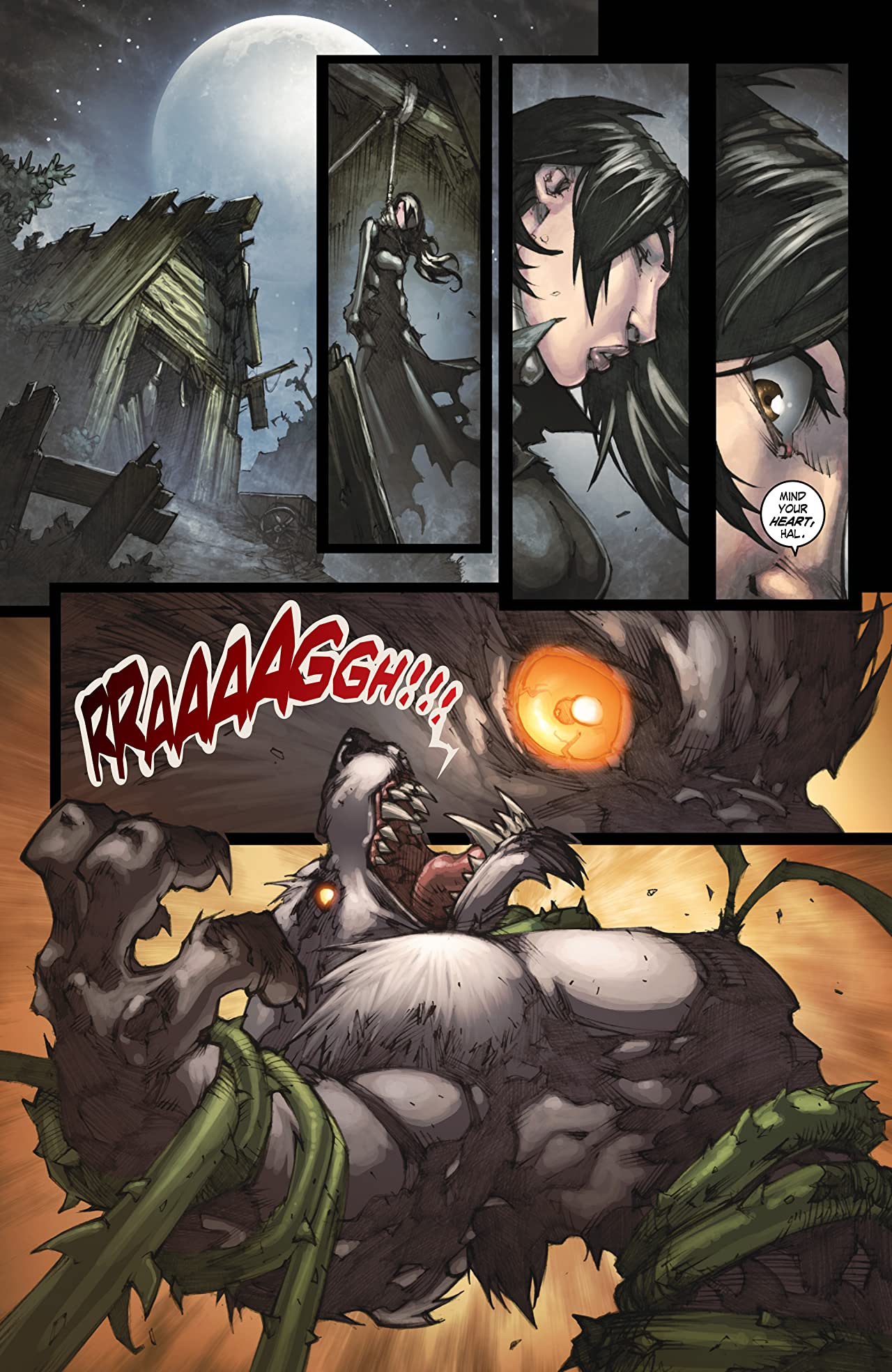 World of Warcraft: Curse of the Worgen #5 (of 5)