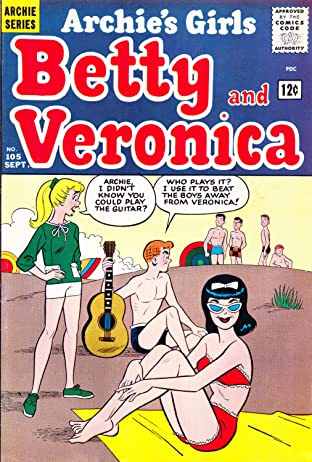 Archie's Girls Betty & Veronica No.105