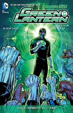 Green Lantern (2011-2016) Vol. 4: Dark Days