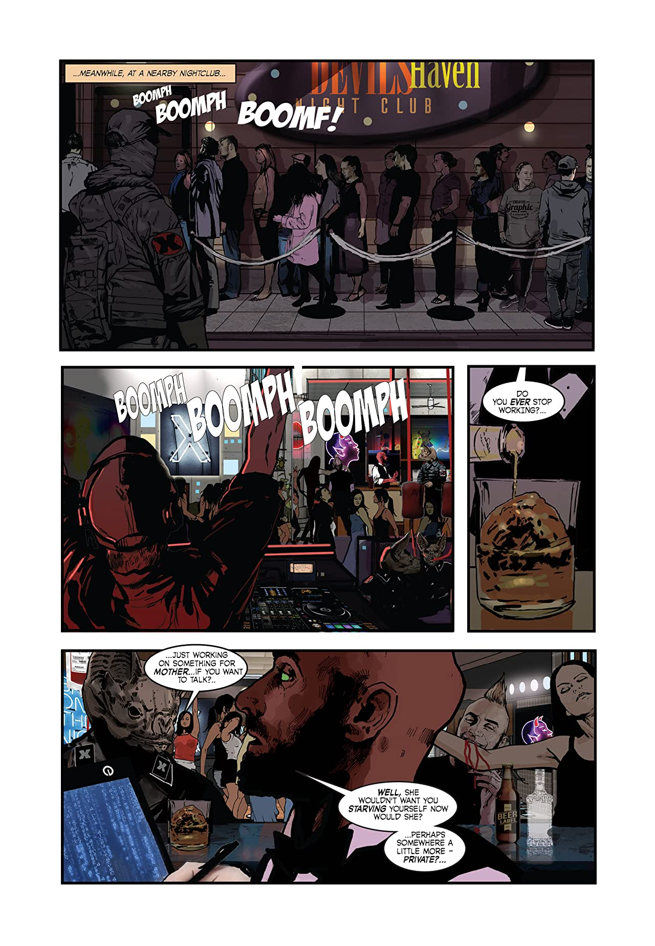 The Vampires of Lower Bennett Street #3