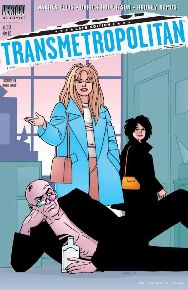Transmetropolitan #33