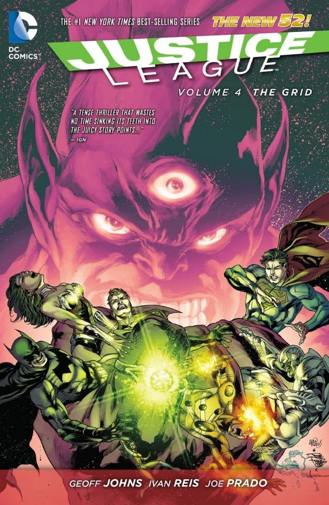 Justice League (2011-) Vol. 4: The Grid
