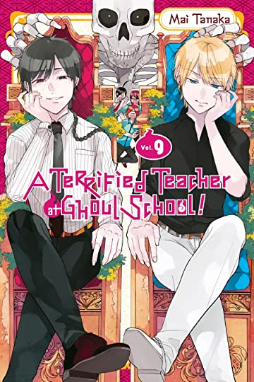 A Terrified Teacher at Ghoul School! Vol. 9