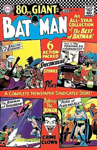 Batman (1940-2011) #187