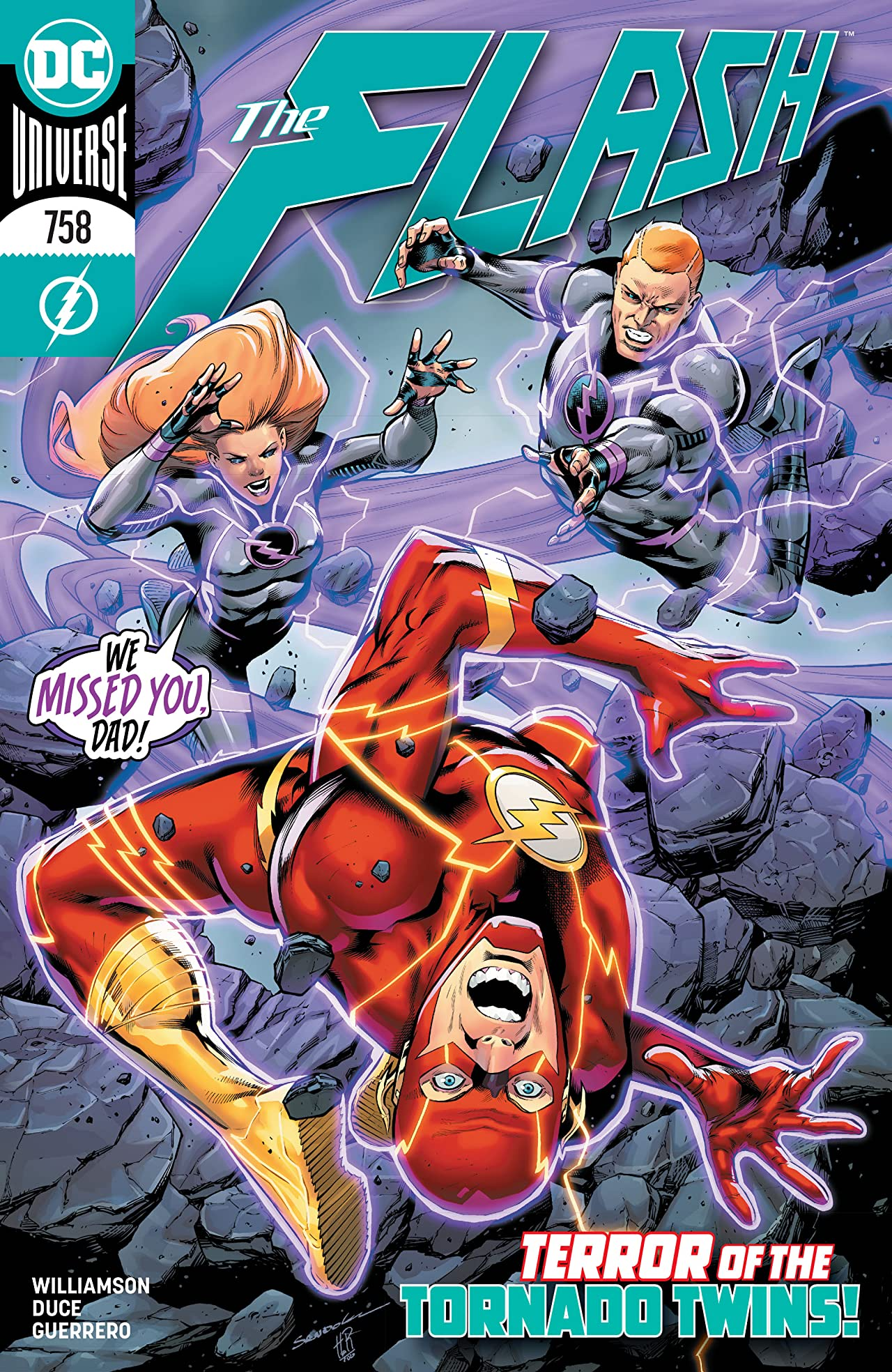 The Flash (2016-) No.758