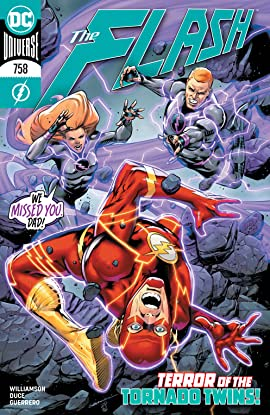 The Flash (2016-) #758