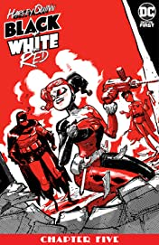 Harley Quinn Black + White + Red (2020-) No.5