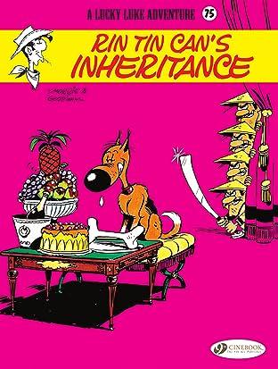 Lucky Luke Vol. 75: Rin Tin Can's Inheritance