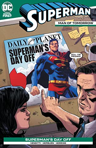 Superman: Man of Tomorrow #12