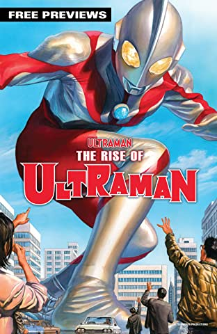The Rise Of Ultraman (2020-) Sampler No.1