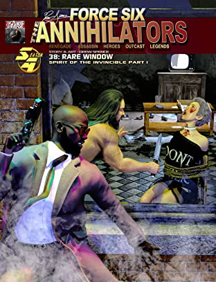 38 Force Six, The Annihilators No.38