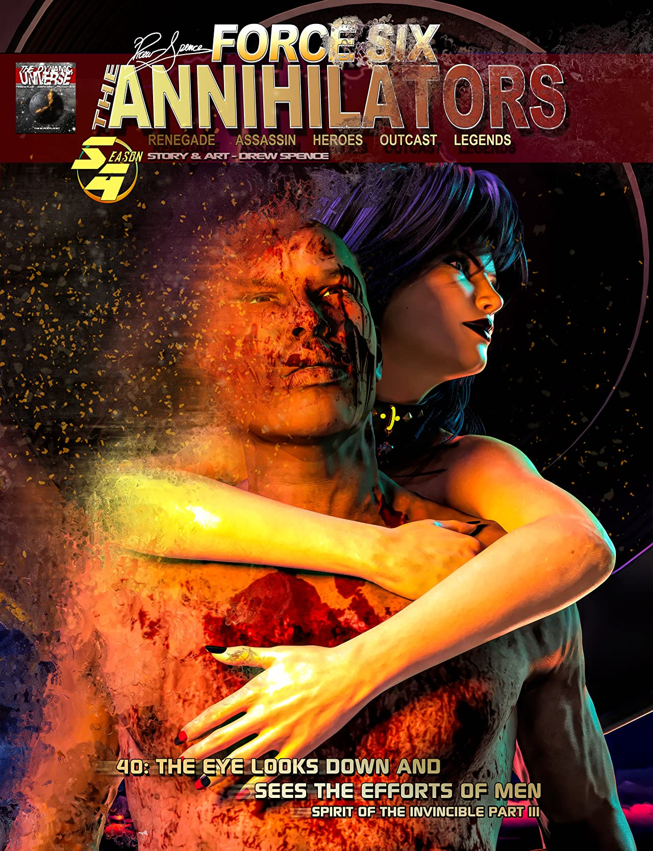 Force Six The Annihilators cover episode 40