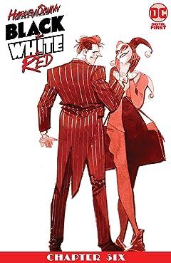 Harley Quinn Black + White + Red (2020-) #6