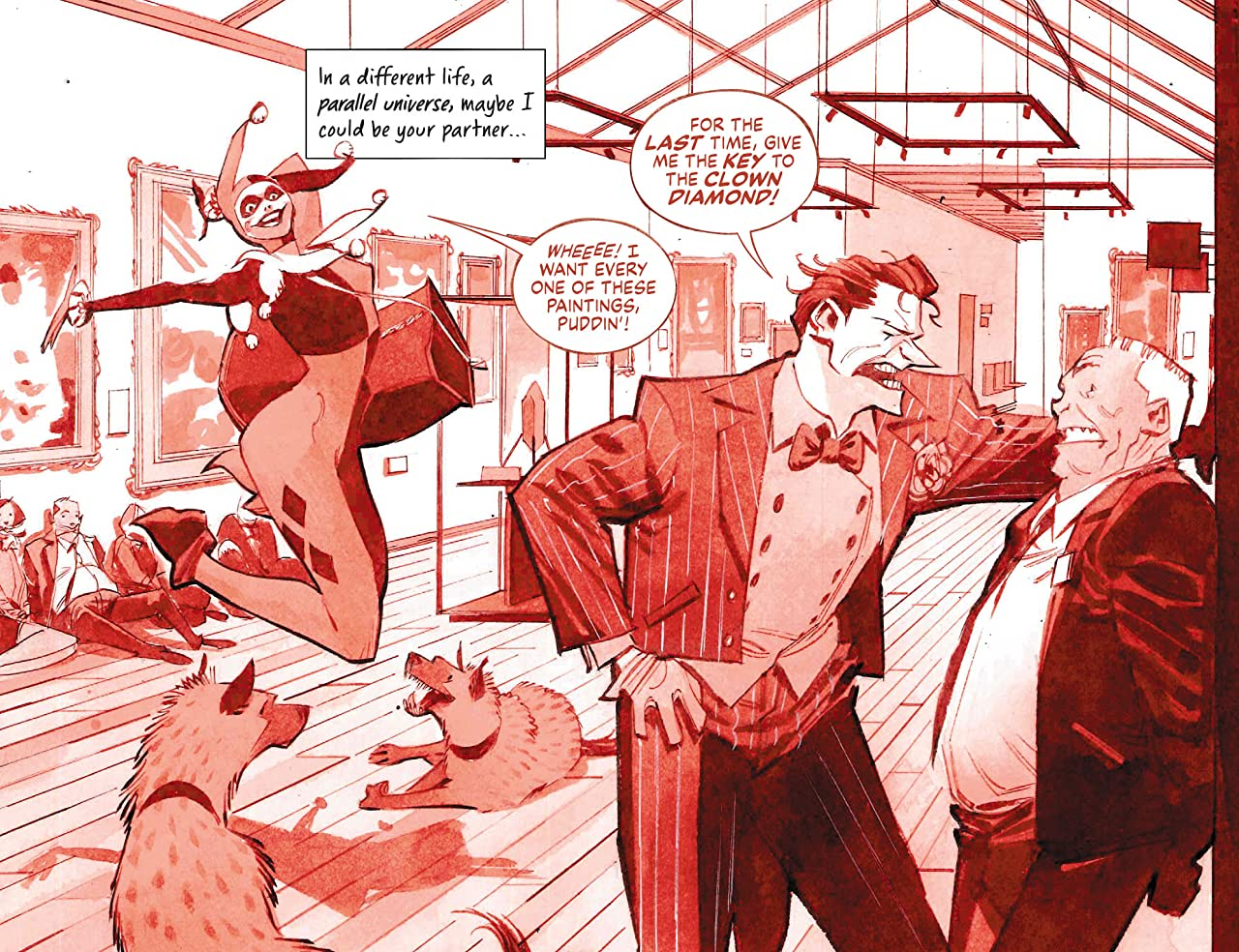 Harley Quinn Black + White + Red (2020-) #6