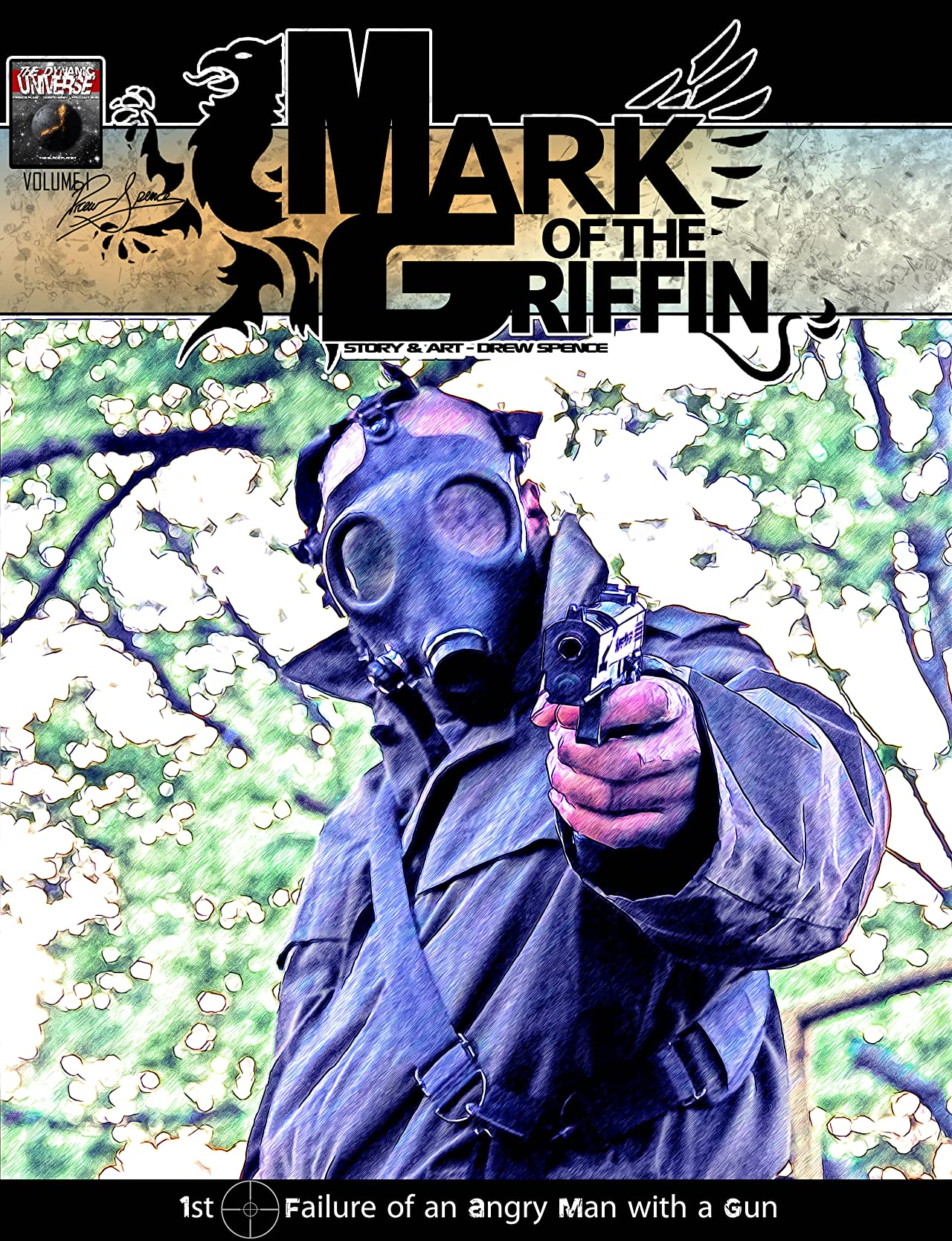 Mark of the Griffin comic book cover