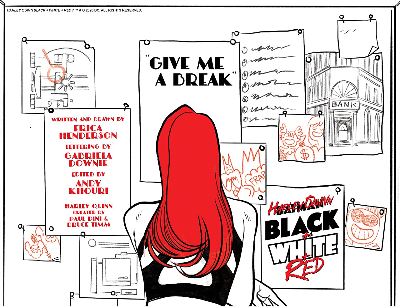 Harley Quinn Black + White + Red (2020-) #7