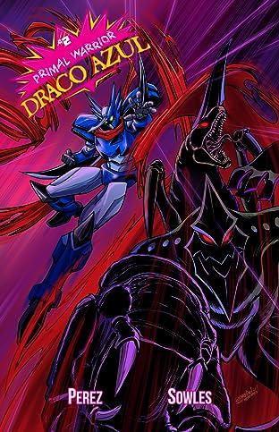 Primal Warrior Draco Azul No.2