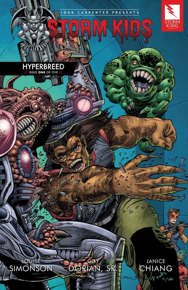 John Carpenter Presents Storm Kids: HYPERBREED #1