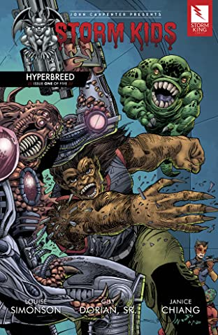 John Carpenter Presents Storm Kids: HYPERBREED #1