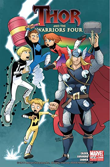 Thor and the Warriors Four #1 (of 4)