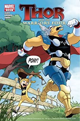 Thor and the Warriors Four #2 (of 4)